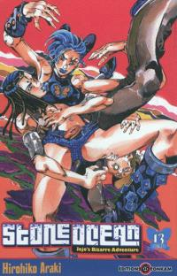 Stone ocean : Jojo's bizarre adventure. Volume 13, Haut dans le ciel : sky high !