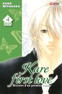 Kare first love : histoire d'un premier amour : volume double. Volume 4