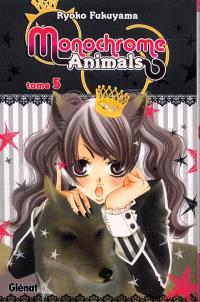 Monochrome animals. Volume 5