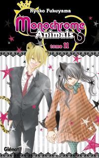 Monochrome animals. Volume 11