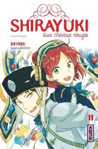 Shirayuki aux cheveux rouges. Volume 11