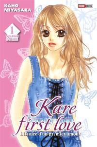 Kare first love : histoire d'un premier amour : volume double. Volume 1