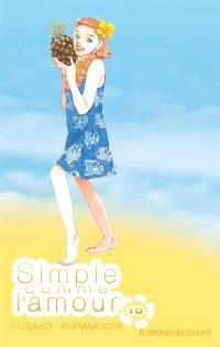 Simple comme l'amour. Volume 10