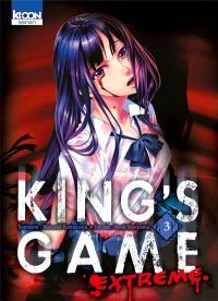 King's game extreme. Volume 3