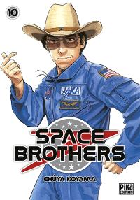 Space brothers. Volume 10