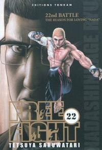 Free fight. Volume 22, The reason for loving Nada : 22nd battle