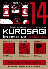 Kurosagi, livraison de cadavres. Volume 14