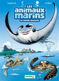 Les animaux marins en bande dessinée. Volume 3