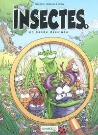 Les insectes en bande dessinée. Volume 1