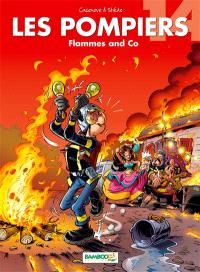Les pompiers. Volume 14, Flammes and Co