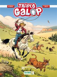 Triple galop. Volume 10