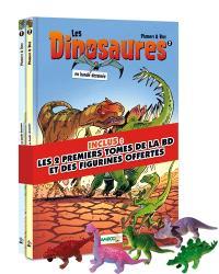 Les dinosaures en bande dessinée : tomes 1 & 2