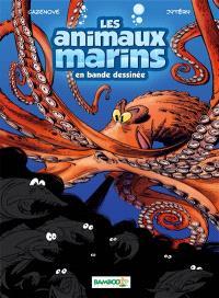 Les animaux marins en bande dessinée. Volume 2