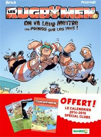 Les rugbymen, pack calendrier tome 1