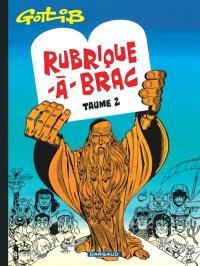Rubrique-à-brac. Volume 2