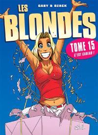 Les blondes. Volume 15, C'est cadeau !