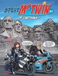 Steve Mc Twin. Volume 2, Ze cartoons !