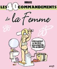 Les 40 commandements de la femme