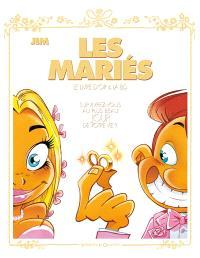 Les mariés : le livre d'or & la BD
