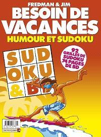 Besoin de vacances : humour et sudoku