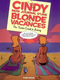 Cindy : mon journal d'une blonde en vacances