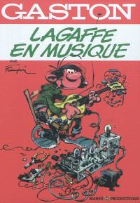 Gaston, Lagaffe en musique