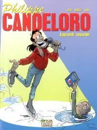Philippe Candeloro : apprenti reporter