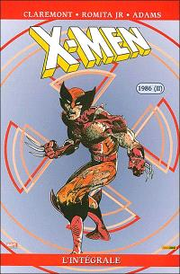 X-Men : l'intégrale. Volume 14, 1986 (II)