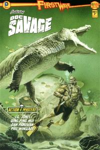 First Wave featuring : Doc Savage. Volume 3