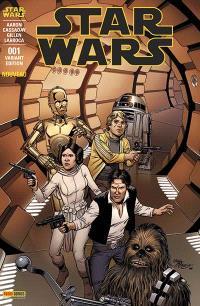 Star Wars. Volume 1, Couverture par Bob McLeod