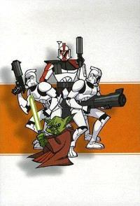 Star wars : clone wars épisodes : tome 1 à 4
