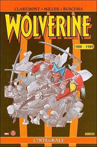 Wolverine : l'intégrale. Volume 1, 1988-1989