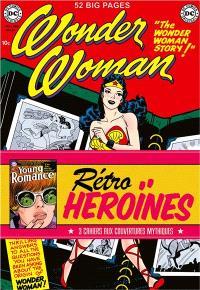 Rétro héroïnes : 3 cahiers aux couvertures mythiques