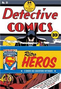 Rétro héros : 3 cahiers aux couvertures mythiques