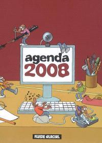 Agenda de bureau 2008