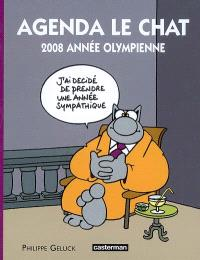 Agenda Le Chat : 2008 année olympienne