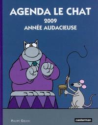 Agenda Le Chat 2009 : année audacieuse