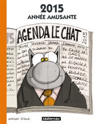 Agenda Le chat 2015 : année amusante