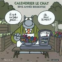 Calendrier Le Chat : 2012 année bissextile