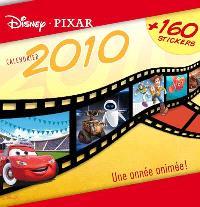 Calendrier Le monde magique de Disney-Pixar 2010