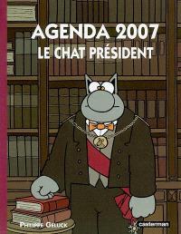 Le Chat président : agenda 2007