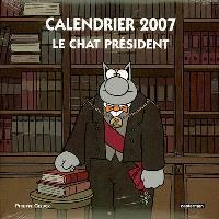 Le Chat président : calendrier 2007