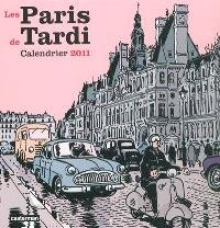 Les Paris de Tardi : calendrier 2011