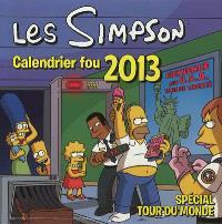 Les Simpson : calendrier fou 2013 : spécial tour du monde