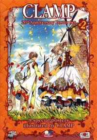 Poster set Clamp 2 : 20th anniversary