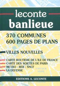 Leconte banlieue : région parisienne