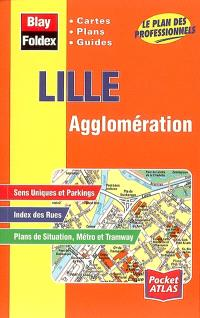 Lille agglomération : cartes, plans, guides : le plan des professionnels