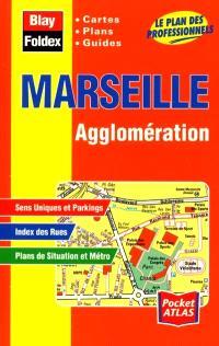 Marseille agglomération : cartes, plans, guides : le plan des professionnels