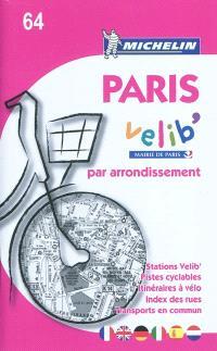 Paris par arrondissement Vélib