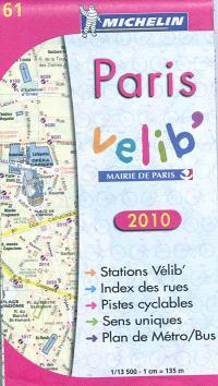 Paris Vélib' 2010